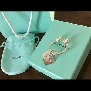 Authentic VERY RARE Tiffany & Co. RTT Key Ring